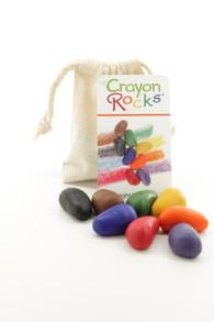 Crayon Rocks Treasure Bag - 8 Primary Colours