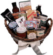 A mountain of treats abound in this popular gift basket loading with everything you need to tickle your tastebuds & delight you senses.