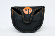 Front view of closure and magnetic surface.