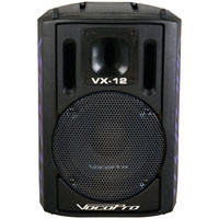The VX-12 is a great addition to any KJ or DJ setup. It produces a clean, clear sound every time and has been specifically designed to deliver optimum, professional-quality vocals all throughout the club and party. With a built-in handle it's easy to transport, and is speaker stand mountable for better room placement.