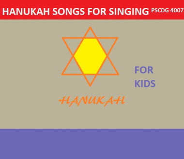 ... Kids; HANUKKAH SONGS FOR SINGING PSCDG 4007. Image 1