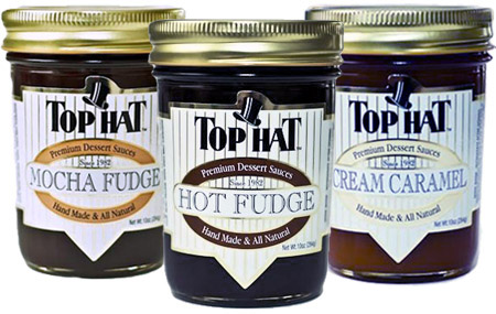 Wholesale and Foodservice Caramel, Hot Fudge and Dessert Sauces