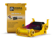 800033-840 Cinta Zebra YMCKO 200 Impresiones Impresora ZXP Series 3