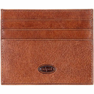 Adpel credit card weekend wallet 572T chestnut front