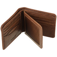 Golunski Wallet Oak 7-706 Brown : Open