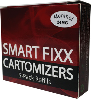 SmartFixx Cartomizers - 1 Pack/5 refill cartomizers