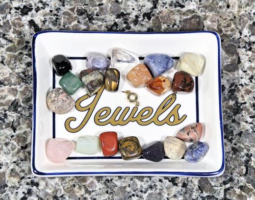 Semi-Precious Natural Crystal Collector's Set Objet d'art BOYBEADS