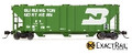 ExactRail PS-2CD 4000 Covered Hopper Burlington Northern #450139 (N)