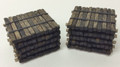 JWD #43310 Creosote Coated Tie Stack (2-pk) (HO)