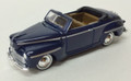 Classic Metal Works #30102D Vintage Ford '48 Convertible - Blue (HO)