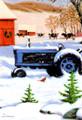 Leanin' Tree #C73691 Farm Tractor Christmas Cards - (10-pk)