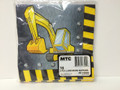 Backhoe 2-Ply Luncheon Napkins (16-pk) by MTC #PF-18302