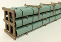 JWD #61660 General Purpose Green Pipe Load for ExactRail Thrall (HO)