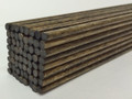 JWD #41320 Utility Pole Load for Atlas or ExactRail  68' Bulkhead Flat Cars -Creosote (HO)