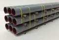 JWD #61504 General Purpose 50' Gray Pipe Load (HO)