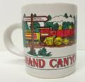 Grand Canyon Espresso Mug 4-6-0 Steam Train
