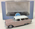 Oxford Diecast #87CN57001 Chevy '57 Nomad - Pearl/Ivory (HO)