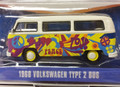 """Greenlight #51009 V-Dub '68 Volkswagen Type 2 Bus 'Peace"""" - (S)"""