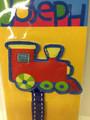Colorful Train Bookmark by Stephen Joseph