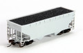 Atlas Trainman #18870 Undecorated 2-Bay Offset Side Hopper (HO)