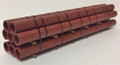 JWD #61601A - 45' Double-walled Red Oxide Pipe (HO)