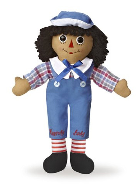 "Aurora World Raggedy Andy Classic 12"" Doll, Brunette"