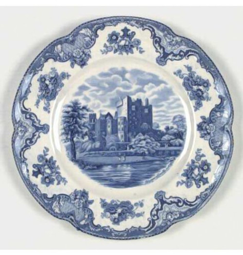 Old Britain Castles Blue Johnson Brothers Casual Bread & Butter Plate 6.25""