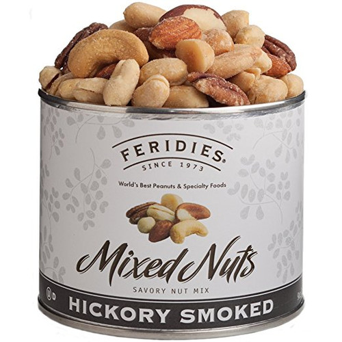 9 oz Can Hickory Smoked Mixed Nuts