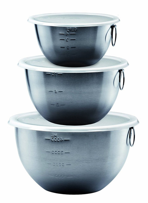 Tovolo Stainless Mixing Bowls - Set of 3