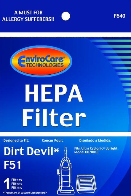 Generic Dirt Devil F51 HEPA Filter