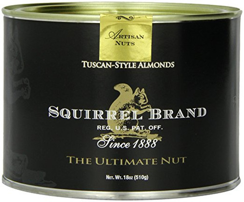 Squirrel Brand Nuts, Tuscan-Style Almonds, 18-Ounce Can