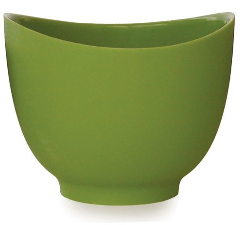 iSi Basics Flexible Silicone Mixing Bowl, 1.5 Quart, Wasabi