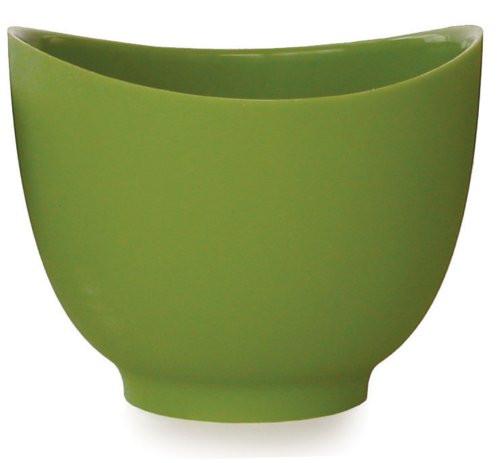 iSi Basics Flexible Silicone Mixing Bowl, 1.5 Quart, Wasabi