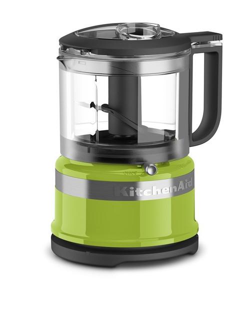 KitchenAid KFC3516GA 3.5 Cup Mini Food Processor, Green Apple