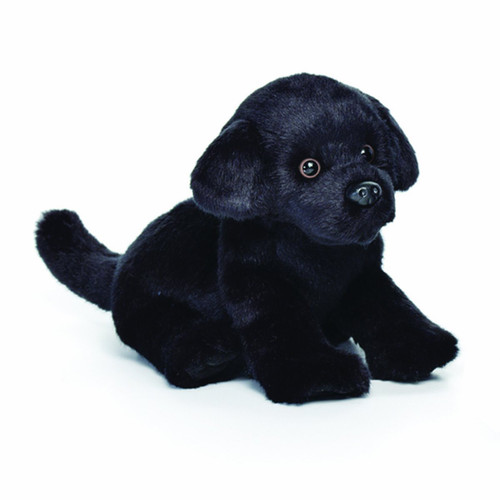Nat and Jules Black Labrador Plush Toy, Small