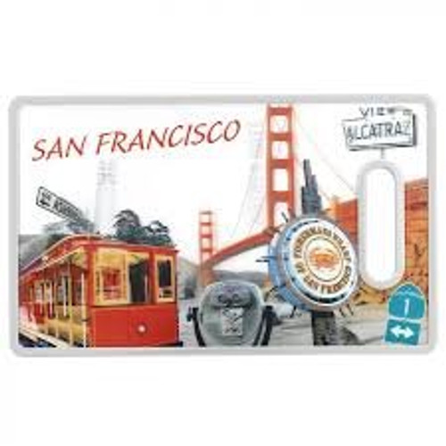 Cuisinart 3D San Francisco Cutting Board, Multicolor
