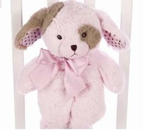 "Pup Lil Stitch Pink Puppy 15"" by Bearington"