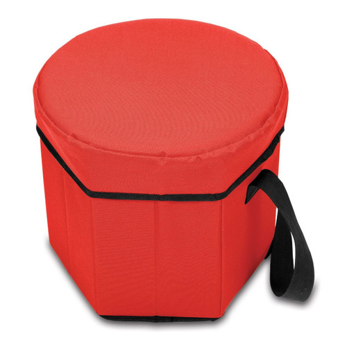 Picnic Time Bongo Insulated Collapsible Cooler, Red