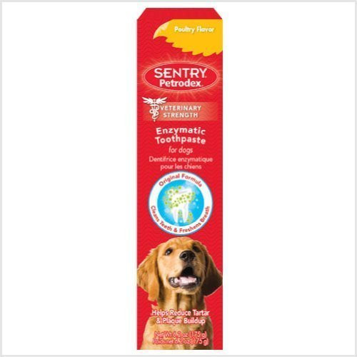 Petrodex Enzymatic Toothpaste Dog Poultry Flavor, 6.2-Ounce