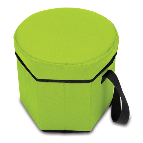 Picnic Time Bongo Insulated Collapsible Cooler, Lime