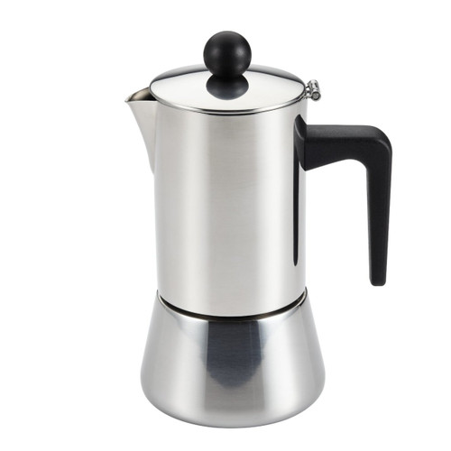 BonJour Coffee Stainless Steel Stovetop Espresso Maker, 32-Ounce
