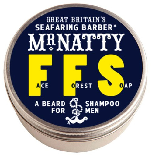 Mr Natty Natty's Face Forest Soap Beard Shampoo