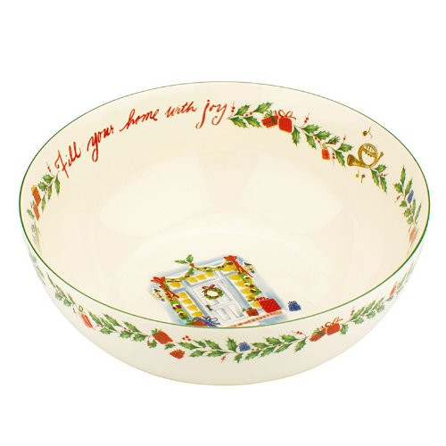 Lenox Fill Your Home with Joy Serving Bowl