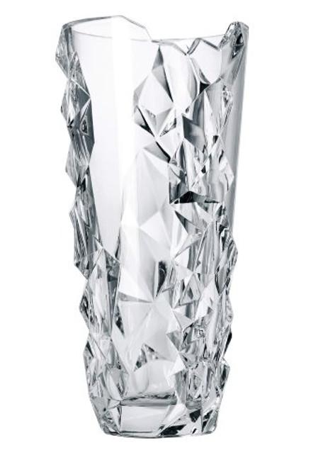 Nachtmann Crystal Sculpture Vase, Round