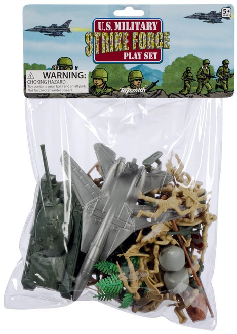 Toysmith Deluxe Strike Force Action Figure Playset