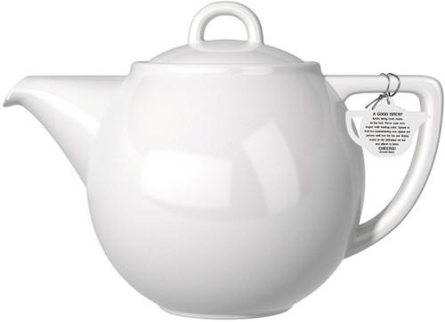 London Pottery Geo 2 Cup Teapot, White