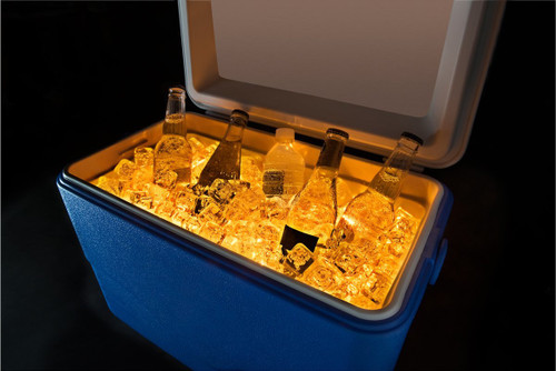 Brightz, Ltd. Gold Cooler Brightz LED Lights Cooler Accessory