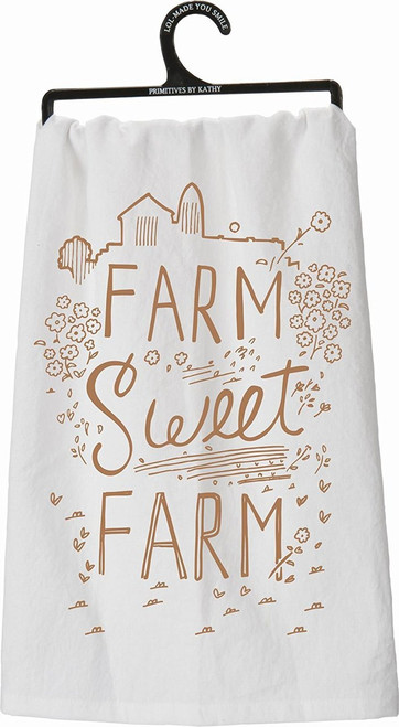 Farm, Sweet, Farm Tea Towel