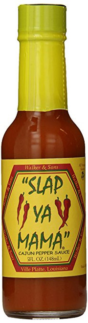 Slap Ya Mama 2 Piece Cajun Pepper Sauce, 5 Ounce