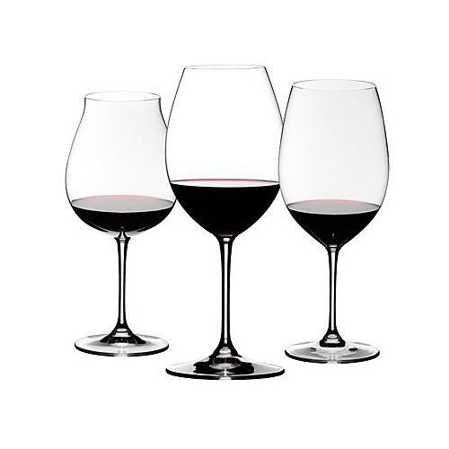 Riedel 3-Piece Vinum Red Wine Tasting Set, X-Large